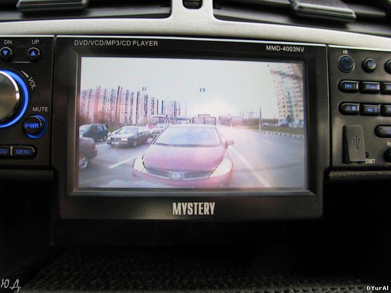 Вид в камеру на светофоре 2
